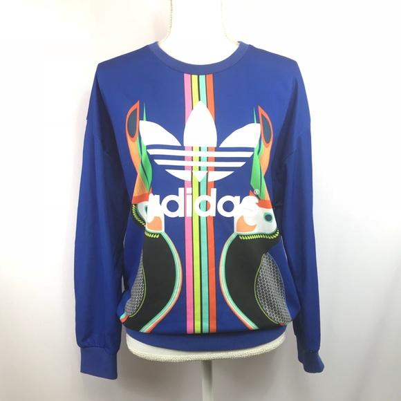 391058945480 adidas Tops - ADIDAS Original Farm Toucan Sweatshirt